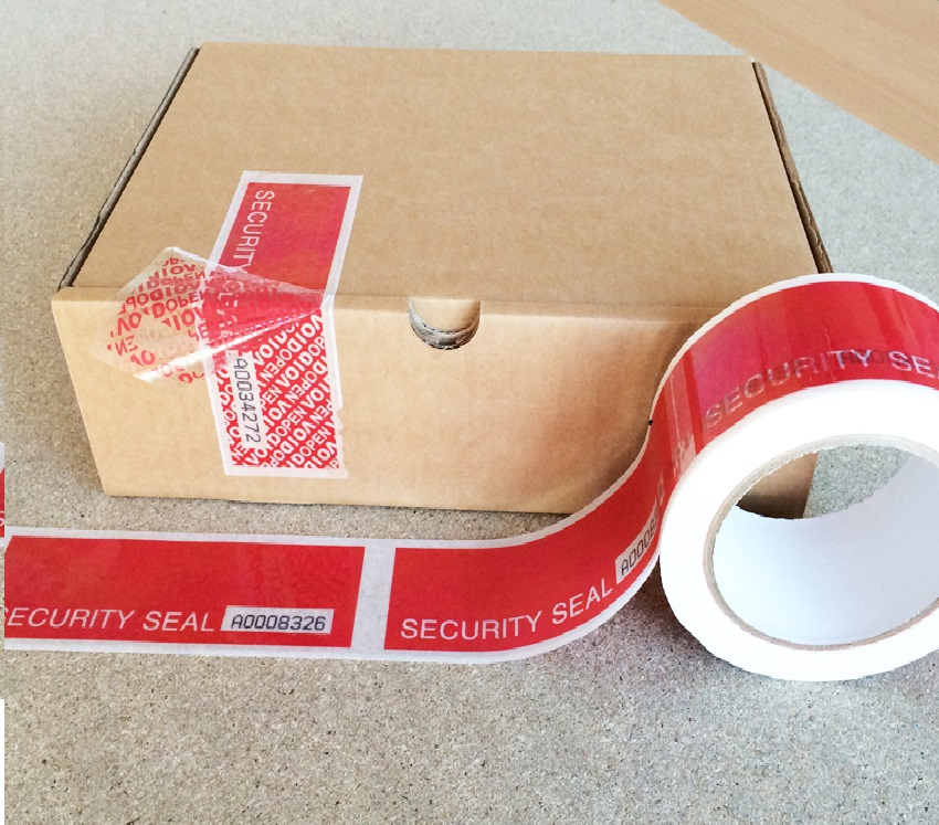 custom-printed security tapes