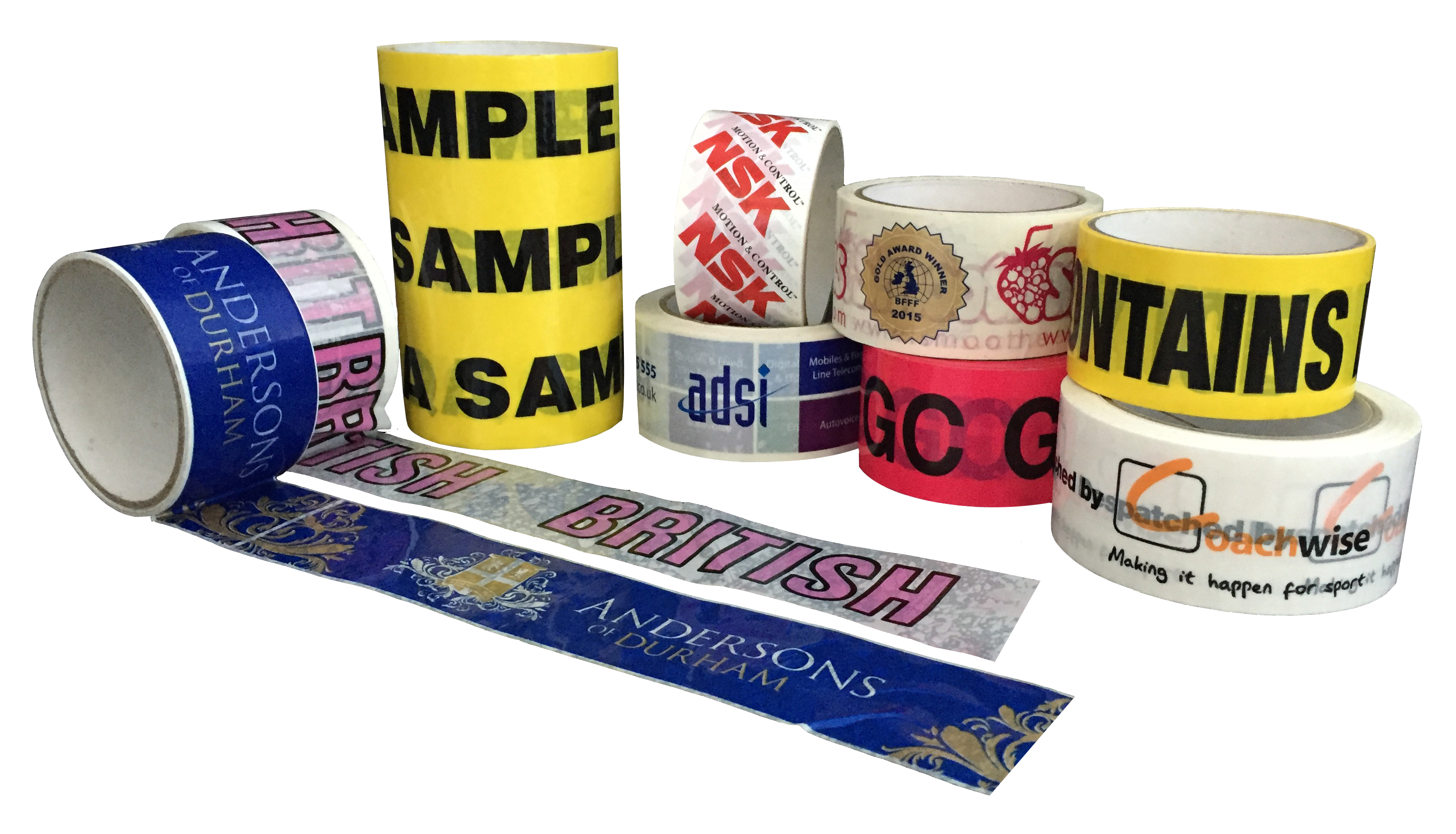 custom-printed packaging tape