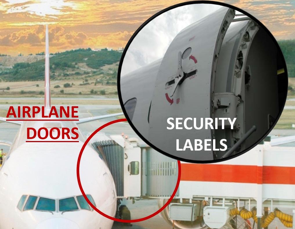 Sealing aircraft doors