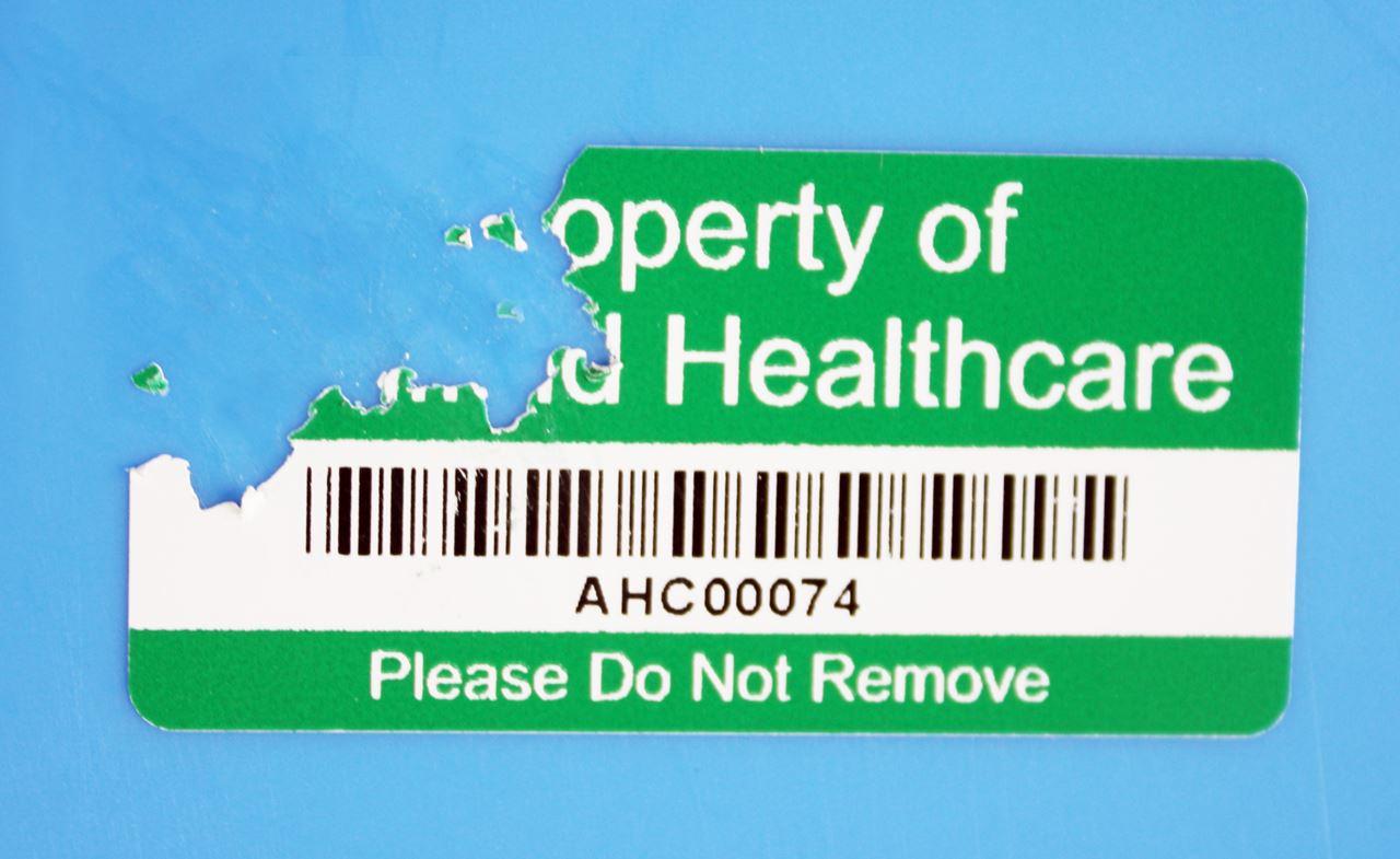 Picture of Unilabel - Vinyl Destructible Security Labels