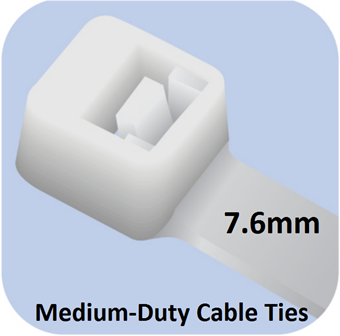 Picture of Medium-Duty Ties (7.6mm width)