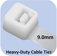 Picture of Heavy-Duty Cable Ties (9mm width)