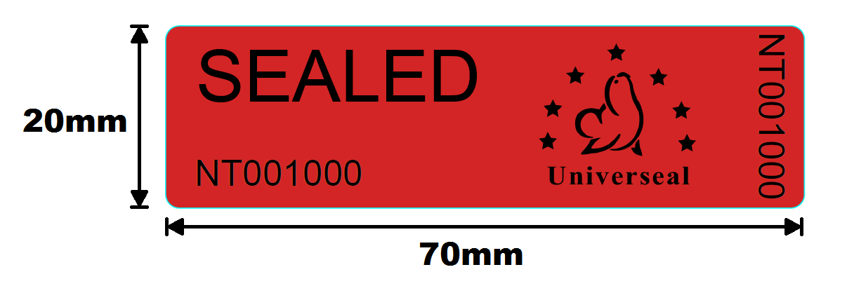 Picture of UniLabel - Residue Security Labels
