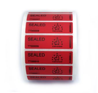 Picture of UniLabel - No Residue Security Labels