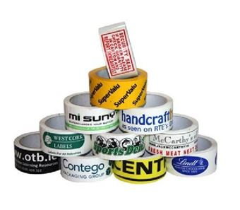 Picture of Custom-Printed PVC / Vinyl Packaging Tape