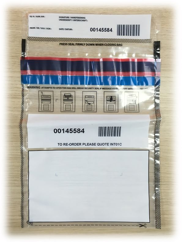 Picture of C5 / A5 Mail Security Envelopes (26x18cm)