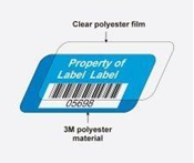 Picture of 3M Polyester Asset Labels