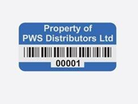 Picture of Polypropylene Asset Labels