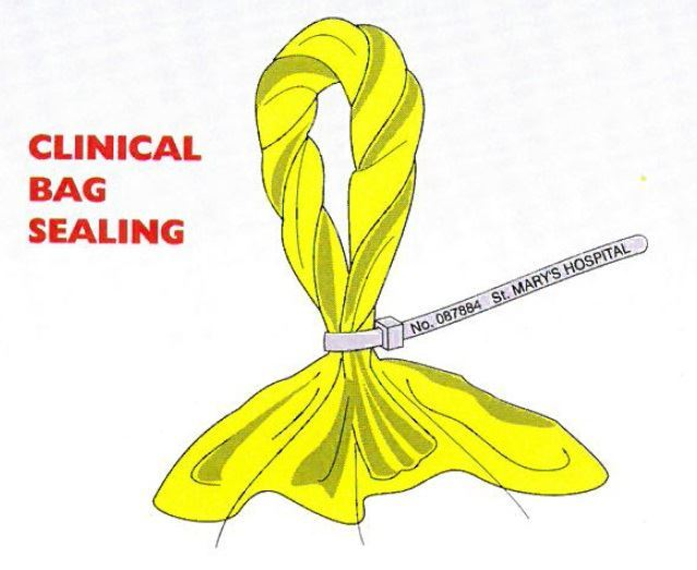 Picture of Clinical Waste Cable Ties