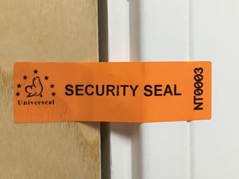 Picture of UniLabel - Easy-Break, No Residue Security Labels