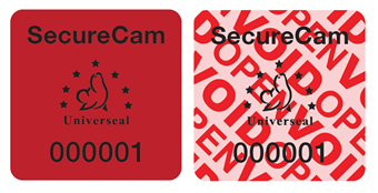 Picture of SecureCam No Photo Security Labels