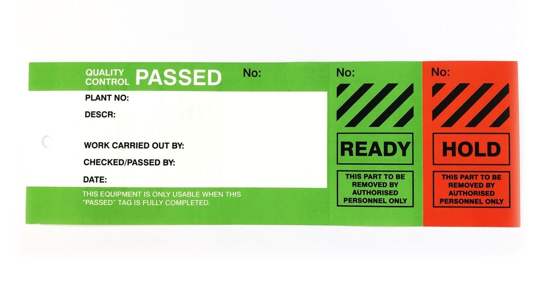 Picture of 200 micron Plastic InspectaTags