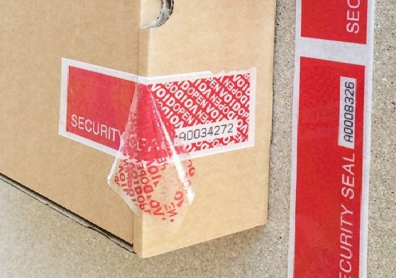 Numbered UniTape - Residue Security Tape. Universeal (UK) Ltd ...