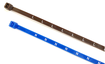 Picture of N, L & L1-L3 Electrical Cable Ties