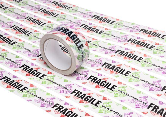 Picture of Custom-Printed PVC / Vinyl Packaging Tape