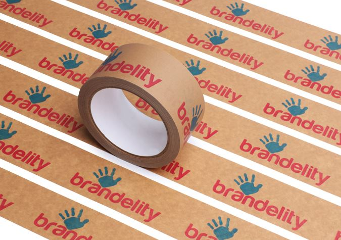 Picture of Environmentally-friendly Adhesive Paper Packaging Tape