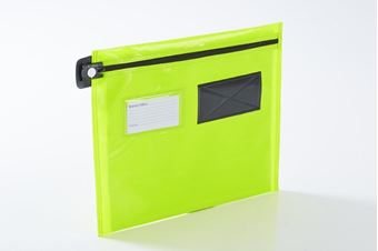 Picture of Flat Security Mail Pouch (Long-edge zip)