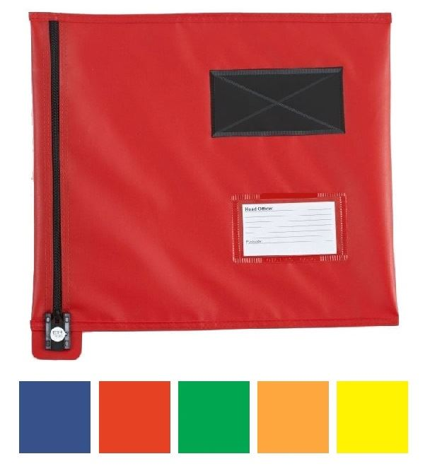 Picture of Flat Security Mail Pouch (Short-edge zip)