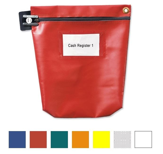 Picture of Re-usable & Tamper-evident Secure Cash Bags