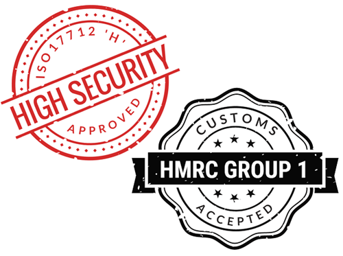 Picture for category Customs Accepted Seals - ISO17712 Certified / HMRC Accepted